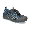 Granatowe sandały dziecięce mini-b, niebieski, 461-9606 - 13