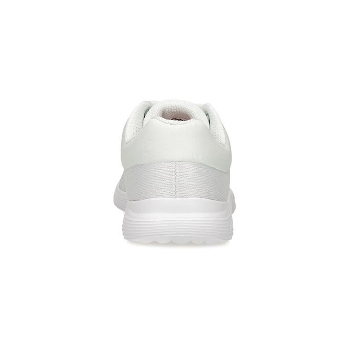 Białe trampki damskie wsportowym stylu power, biały, 509-1855 - 15