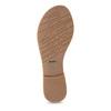 Różowe skórzane sandały damskie zperełkami bata, różowy, 566-5632 - 18