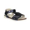 Sandały dziewczęce zfrędzlami mini-b, niebieski, 261-9612 - 13