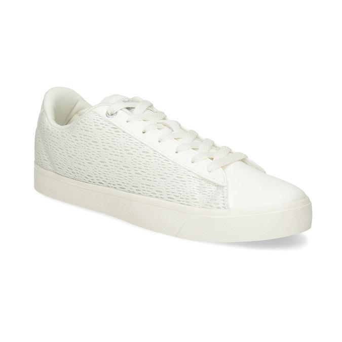 Trampki damskie zkoronką adidas, biały, 509-1554 - 13