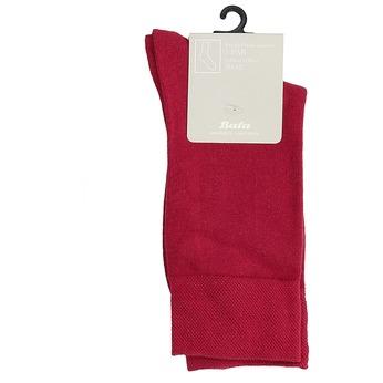 Długie czerwone skarpetki męskie bata, czerwony, 919-5646 - 13