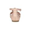 Sandały damskie wkolorze starego różu, ozdobione kryształkami bata, różowy, 561-5614 - 15