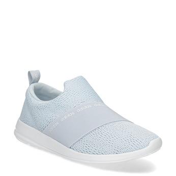 Błękitne trampki typu slip-on adidas, niebieski, 509-2565 - 13