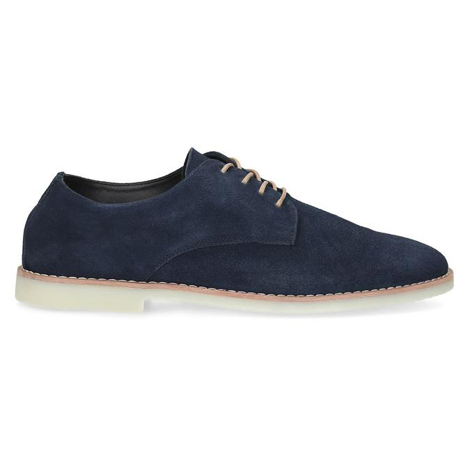 Niebieskie nieformalne półbuty męskie bata-red-label, niebieski, 823-9625 - 19