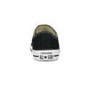 Czarne trampki damskie zgumowymi noskami converse, czarny, 589-6279 - 15