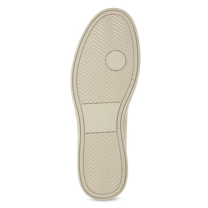 Beżowe slip-on męskie, beżowy, 839-8601 - 18