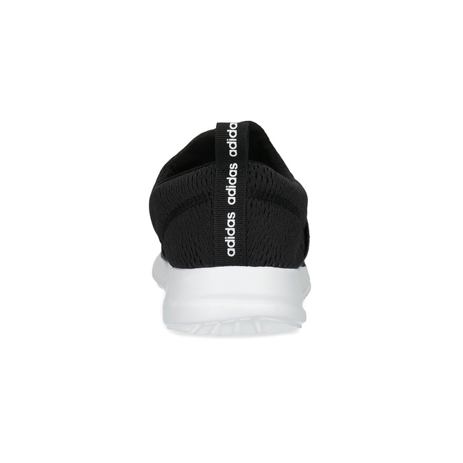 Czarne wsuwane trampki adidas, czarny, 509-6565 - 15