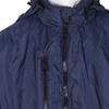 Granatowa kurtka męska zkapturem bata, niebieski, 979-9220 - 16
