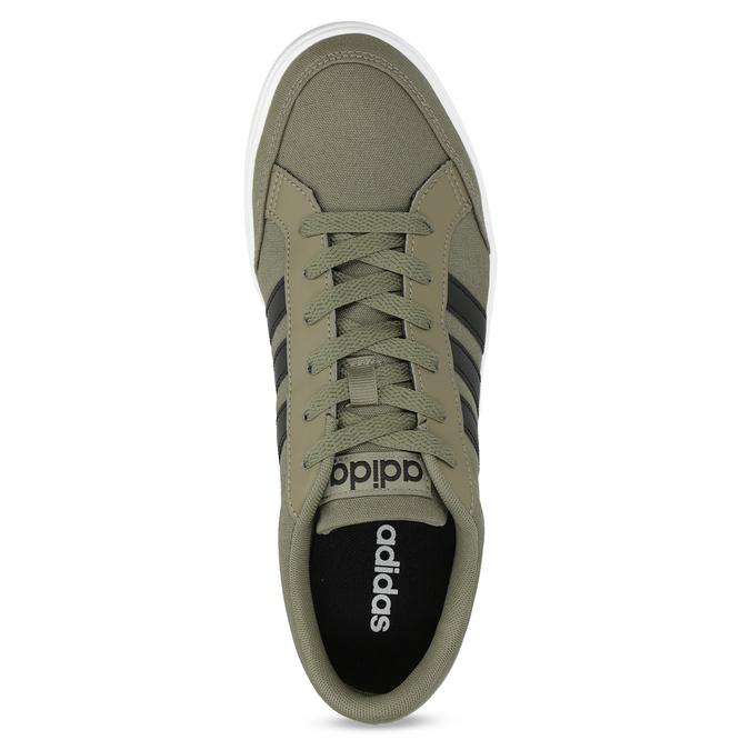 Trampki męskie wkolorze khaki adidas, khaki, 889-7235 - 17