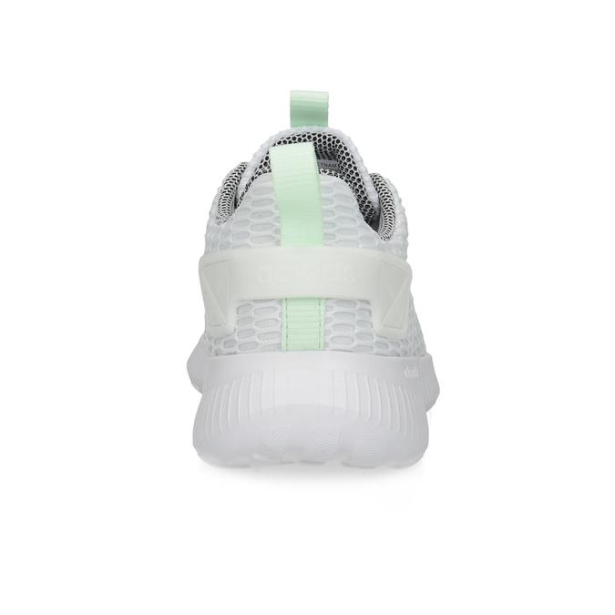 Białe siatkowe trampki adidas, biały, 509-1635 - 15