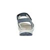 Niebieskie skórzane sandały wstylu outdoor weinbrenner, niebieski, 566-9634 - 15
