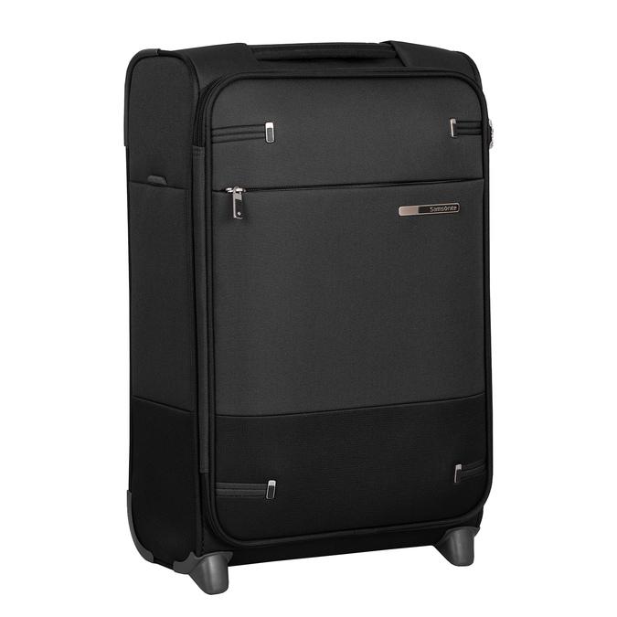 Mała czarna walizka podróżna samsonite, czarny, 969-6617 - 13