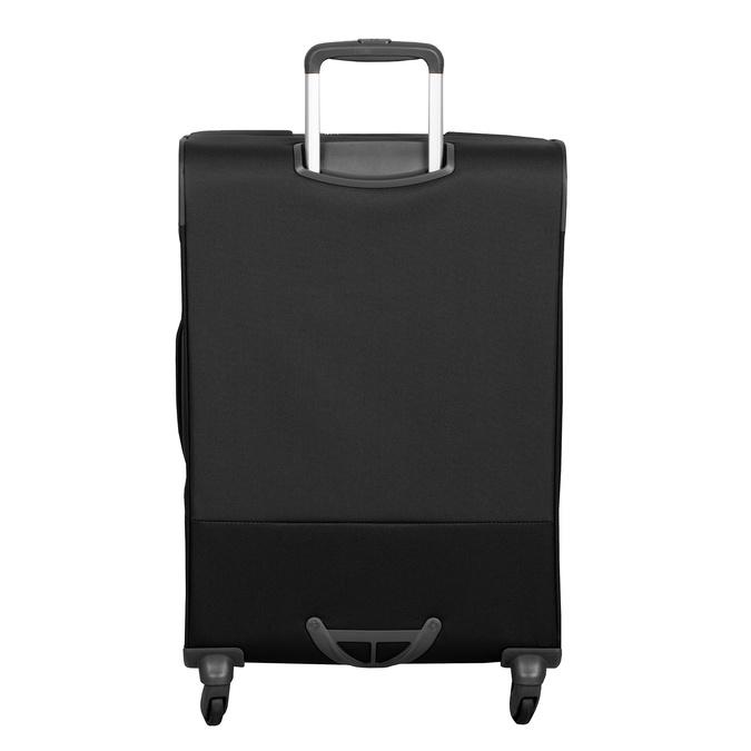 Czarna walizka miękka samsonite, czarny, 960-6039 - 26