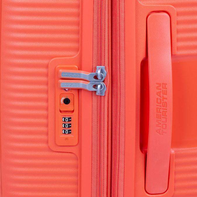 Pomarańczowa walizka na kółkach american-tourister, pomarańczowy, 960-5614 - 15
