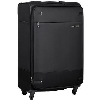 Miękka czarna walizka na kółkach samsonite, czarny, 960-6041 - 13