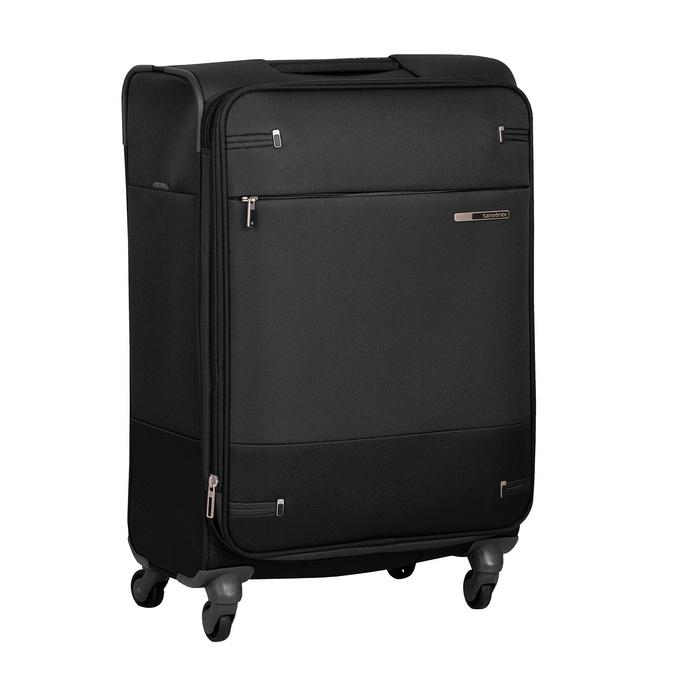 Czarna walizka miękka samsonite, czarny, 960-6039 - 13