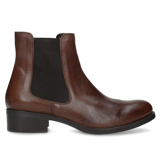 Skórzane buty Chelsea bata, brązowy, 594-4448 - 19