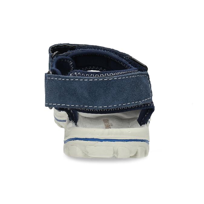 Niebieskie skórzane sandały chłopięce weinbrenner, niebieski, 463-9605 - 15