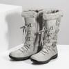 Zimowe śniegowce zfuterkiem bata, szary, 599-8618 - 16