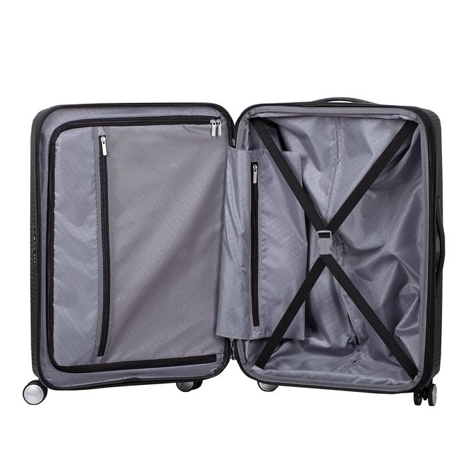 Twarda czarna walizka na kółkach american-tourister, czarny, 960-6614 - 17