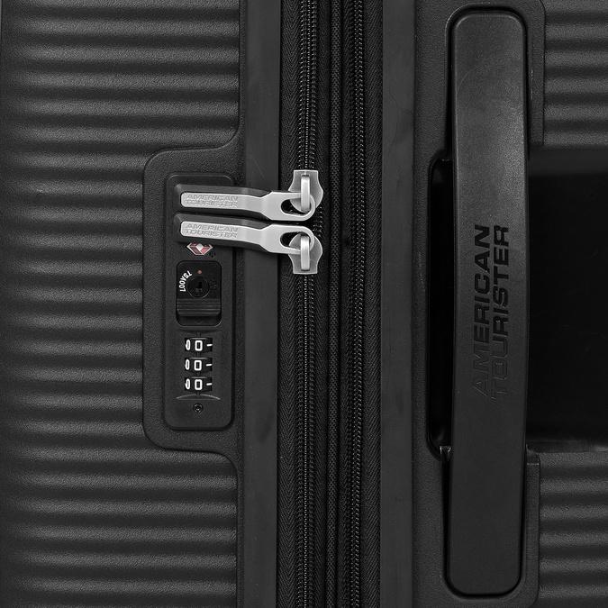 Twarda czarna walizka na kółkach american-tourister, czarny, 960-6614 - 15