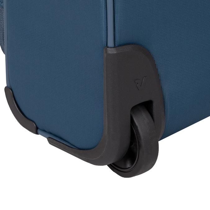 Turkusowa walizka pokładowa roncato, niebieski, 969-9722 - 16
