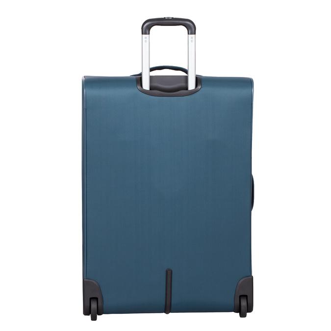 Duża turkusowa walizka na kółkach, zmateriału tekstylnego roncato, niebieski, 969-9719 - 26