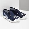 Granatowe obuwie dziecięce typu slip-on mini-b, niebieski, 379-9601 - 26