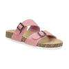 Różowe korkowe klapki damskie bata, różowy, 579-5625 - 13