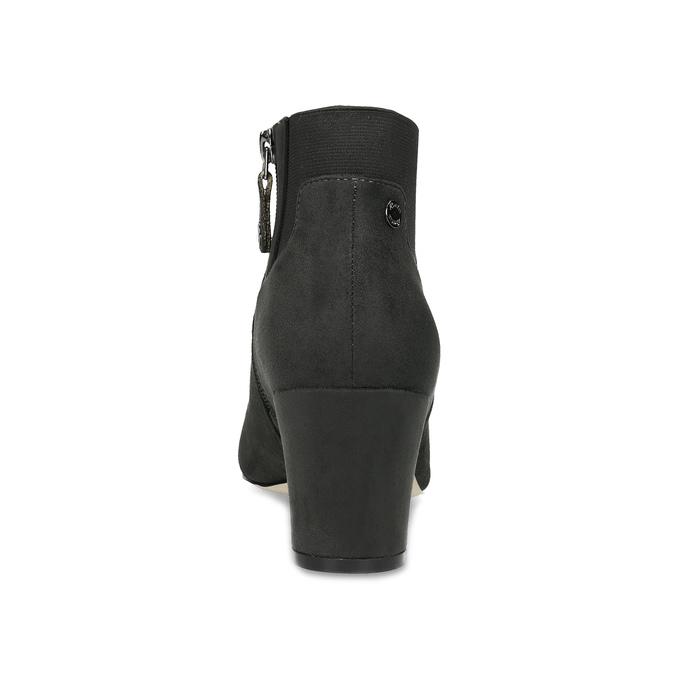 Szare botki damskie zelastycznymi obłożynami bata, szary, 799-2625 - 15