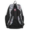 Czarno-biały plecak szkolny bagmaster, szary, 969-2719 - 16