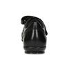 Skórzane trampki męskie na rzepy geox, czarny, 814-6086 - 15