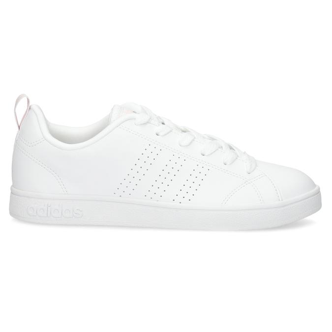 Białe trampki damskie zperforacją adidas, biały, 501-1800 - 19