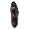 Bordowe półbuty męskie typu oksfordy conhpol, czerwony, 826-5508 - 17