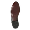 Czarne półbuty męskie zlakierowanej skóry conhpol, czarny, 828-6609 - 18