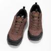 Brązowe skórzane trampki męskie power, brązowy, 803-4147 - 16
