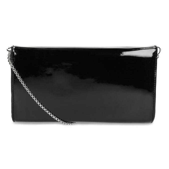 Czarna asymetryczna kopertówka bata, czarny, 961-6912 - 16