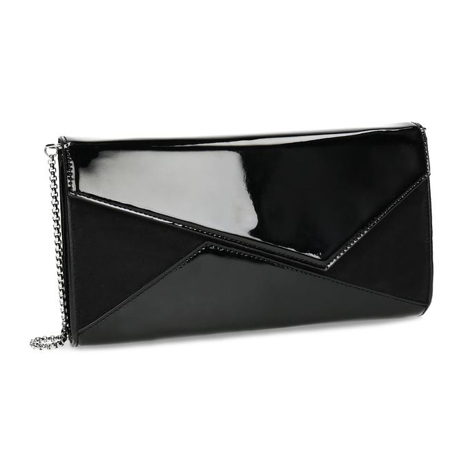 Czarna asymetryczna kopertówka bata, czarny, 961-6912 - 13