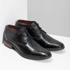 Czarne skórzane półbuty bugatti, czarny, 826-6052 - 26