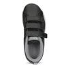 Czarne trampki dziecięce na rzepy adidas, czarny, 301-6268 - 17