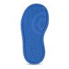 Szare trampki dziecięce zniebieskimi elementami adidas, szary, 101-2194 - 18