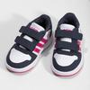 Białe trampki dziecięce na rzepy adidas, multi color, 101-1194 - 16