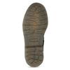 Skórzane botki dziecięce wdeseń mini-b, czarny, 426-2560 - 18