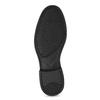 Czarne skórzane mokasyny wstylu penny loafers comfit, czarny, 814-6627 - 18