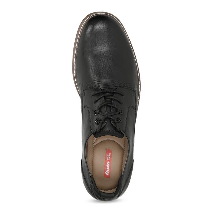 Granatowe półbuty męskie bata-red-label, czarny, 821-9609 - 17