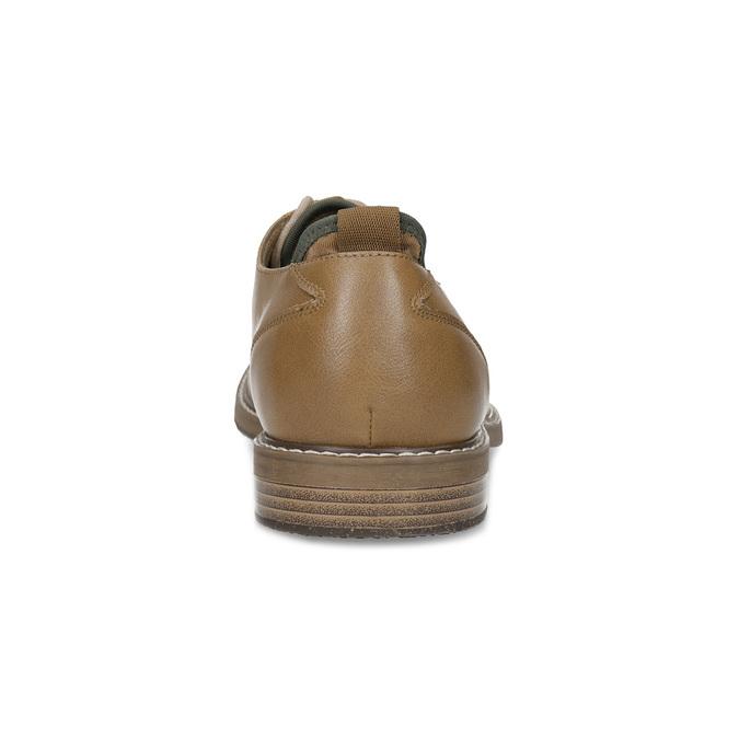 Jasnobrązowe półbuty męskie bata-red-label, brązowy, 821-3609 - 15