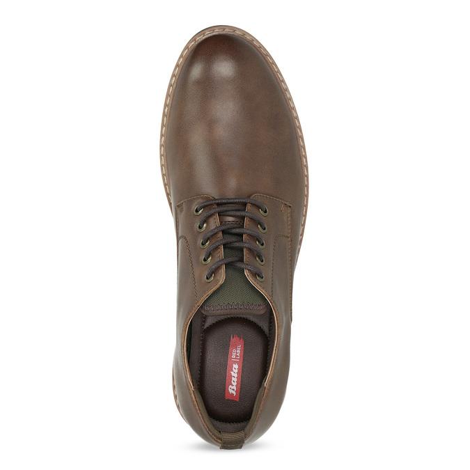 Brązowe półbuty męskie bata-red-label, brązowy, 821-4606 - 17