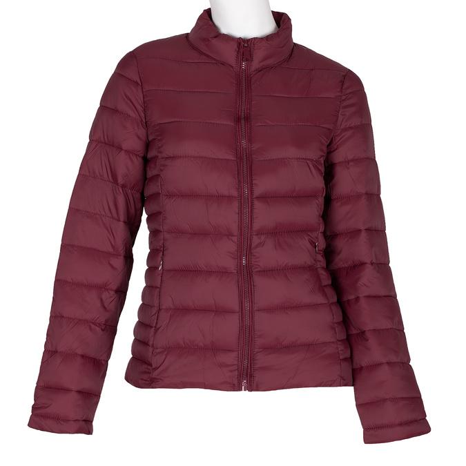 Czerwona kurtka damska zprzeszyciami bata, czerwony, 979-5361 - 13