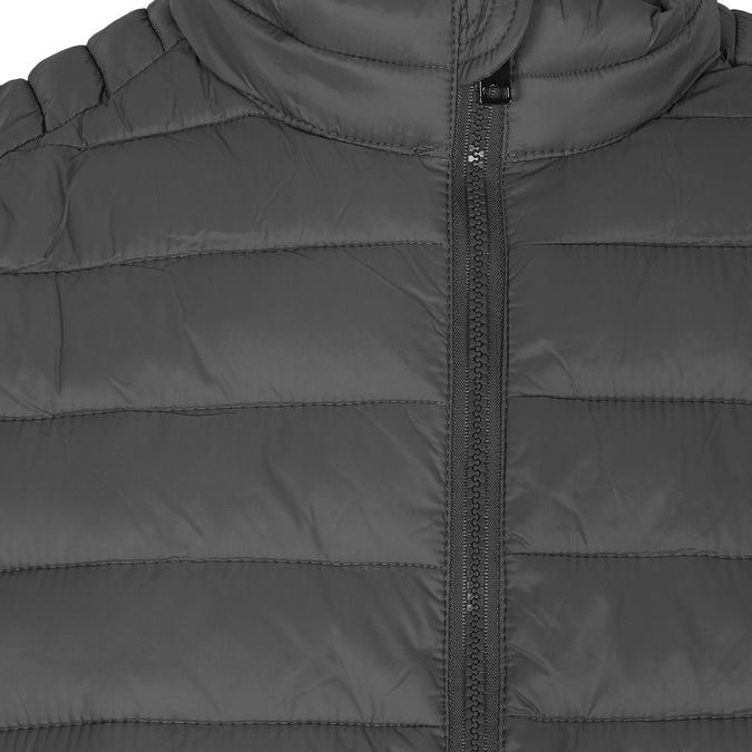 Szara pikowana kurtka męska bata, szary, 979-2369 - 16